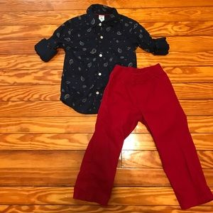 Carters 3T Outfit set